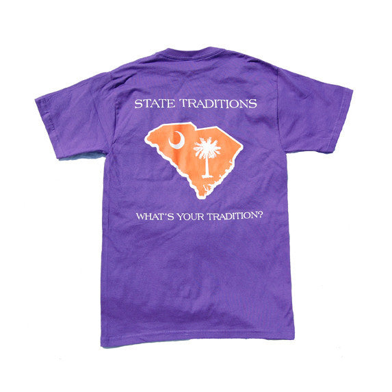 South Carolina Clemson Gameday T-Shirt Purple