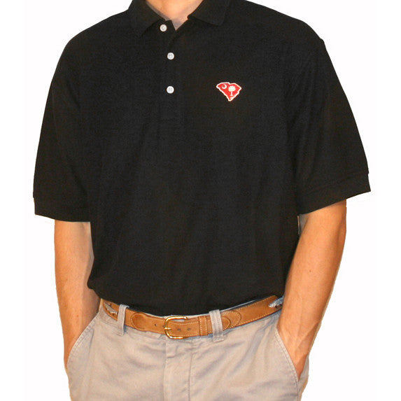 South Carolina Columbia Gameday Polo Black