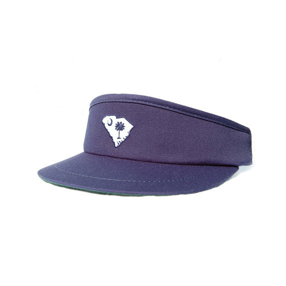 South Carolina Traditional Golf Visor Navy
