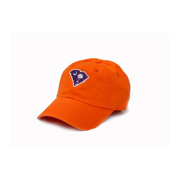 South Carolina Clemson Gameday Hat Orange