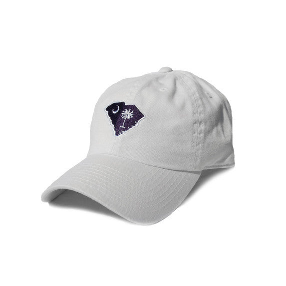South Carolina Traditional Hat White
