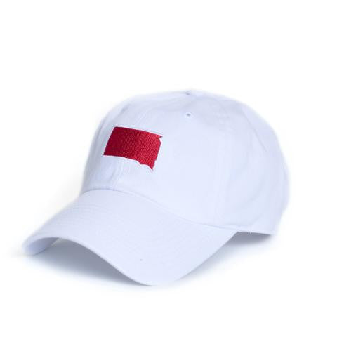 South Dakota Vermillion Gameday Hat White