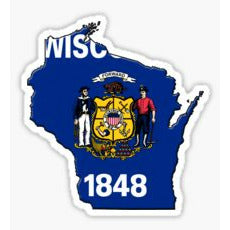 Wisconsin Traditional Sticker