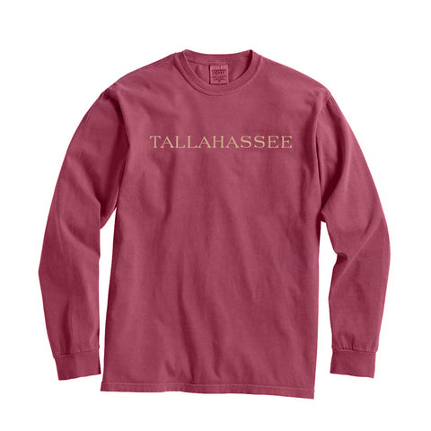 Florida Tallahassee City Series Long Sleeve T-Shirt