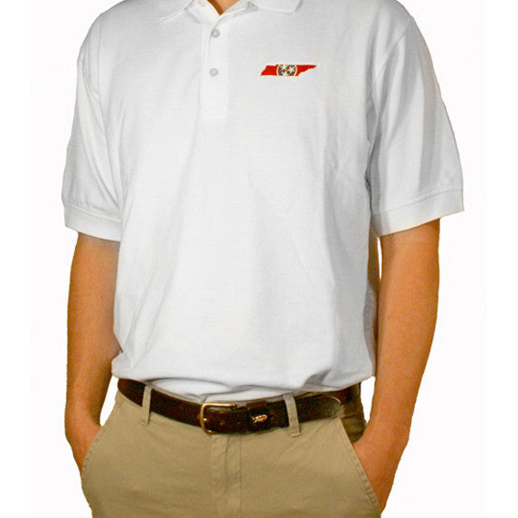 Tennessee Traditional Polo White