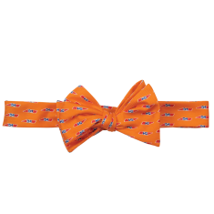 Tennessee Traditional Bow Tie Orange