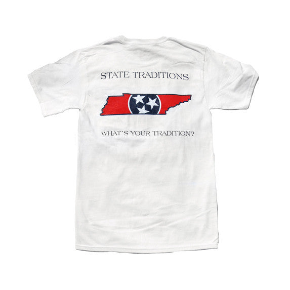 Tennessee Traditional T-Shirt White