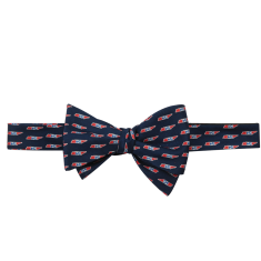 Tennessee Traditional Bow Tie Navy