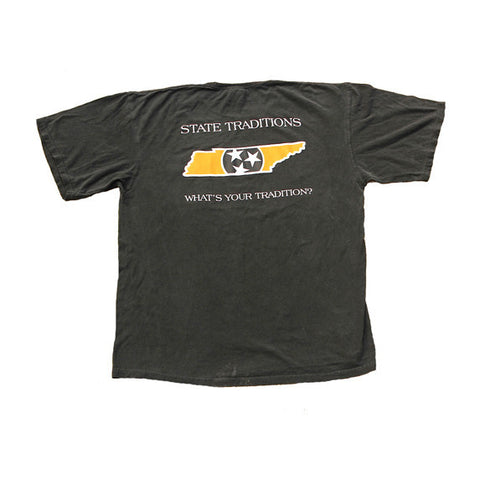 Tennessee Knoxville Traditional T-Shirt Black
