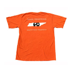 Tennessee Knoxville Traditional T-Shirt Orange