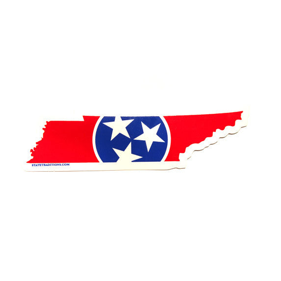 Tennessee Traditional Sticker Red
