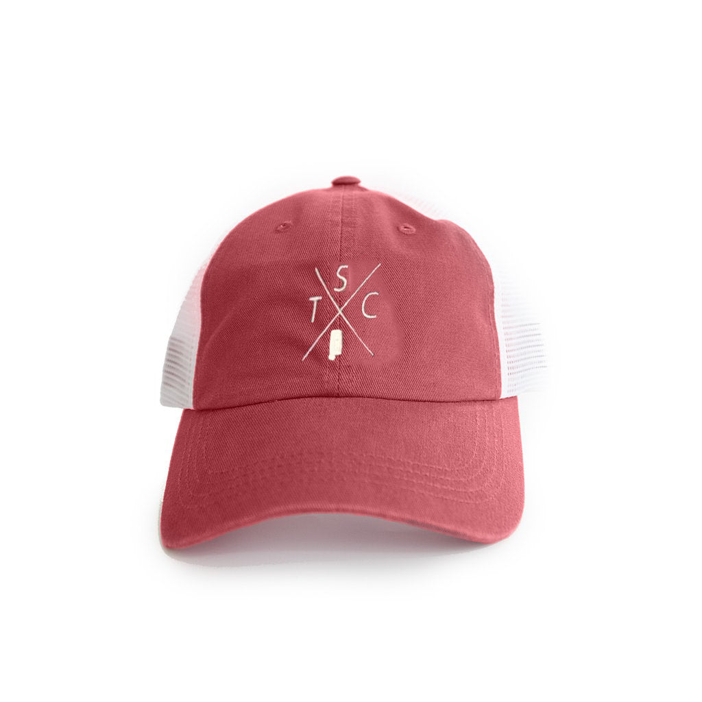 "Alabama Tuscaloosa ""TSC"" Gameday Crossing Trucker Hat"