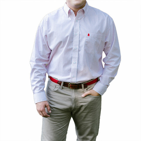 "Alabama Tuscaloosa Gameday ""McDowell"" Buttondown"