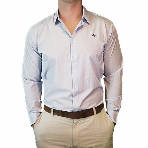"Texas Traditional ""Williams"" Performance Dress Shirt"