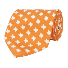 Texas Austin Gameday Tie Orange