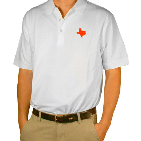 Texas Austin Gameday Polo White