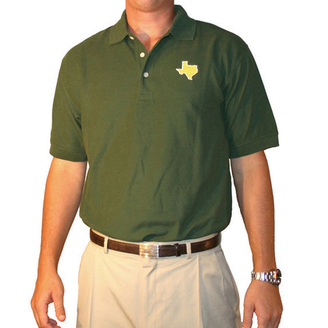 Texas Waco Gameday Polo Green