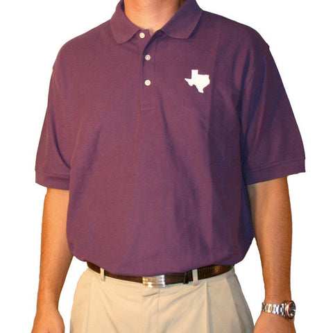 Texas Fort Worth Gameday Polo Purple