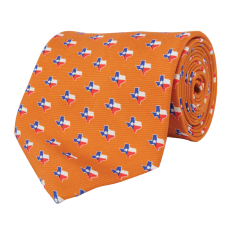 Texas Traditional Tie Orange