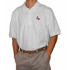 Texas Traditional Polo White
