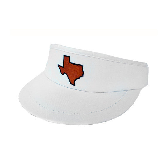 Texas Austin Gameday Golf Visor White