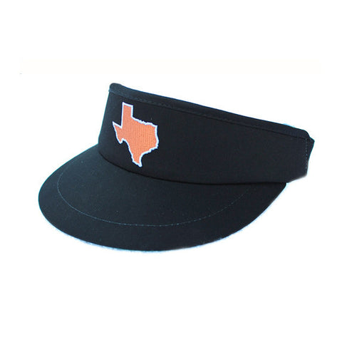 Texas Austin Gameday Golf Visor Black
