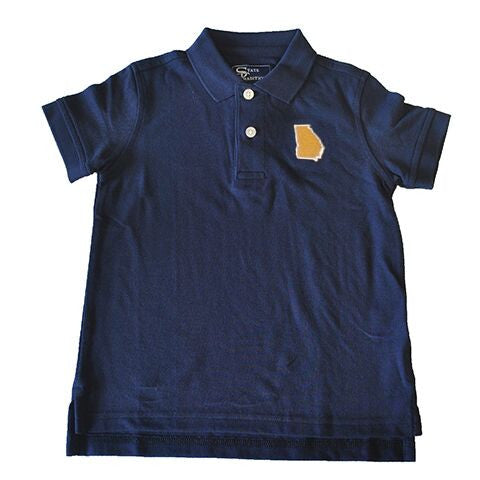 Georgia Atlanta Gameday Youth Polo Navy