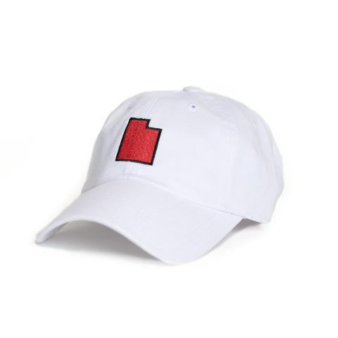 Utah Salt Lake City Gameday Hat White