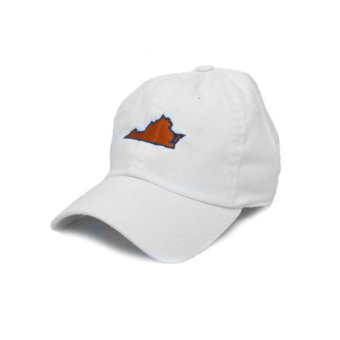 Virginia Charlottesville Gameday Hat White