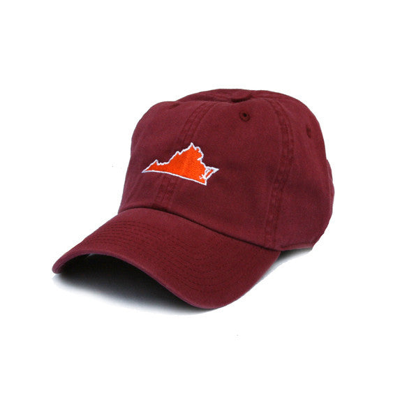 Virginia Blacksburg Gameday Hat Maroon