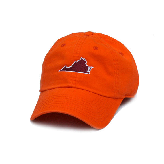 Virginia Blacksburg Gameday Hat Orange