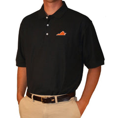 Virginia Charlottesville Gameday Polo Navy