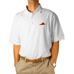 Virginia Blacksburg Gameday Polo White