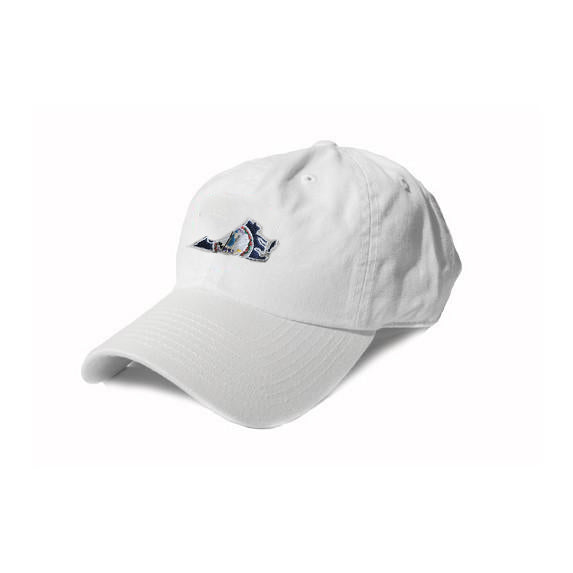 Virginia Traditional Hat White