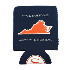Virginia Charlottesville Gameday Koozie