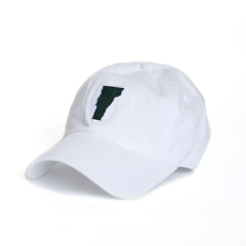 Vermont Burlington Gameday Hat White