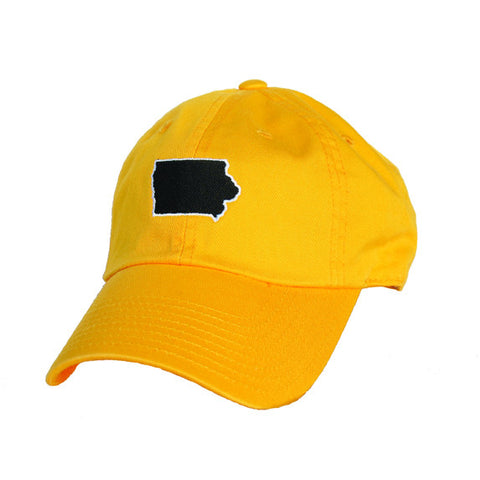 Iowa Iowa City Gameday Hat Gold