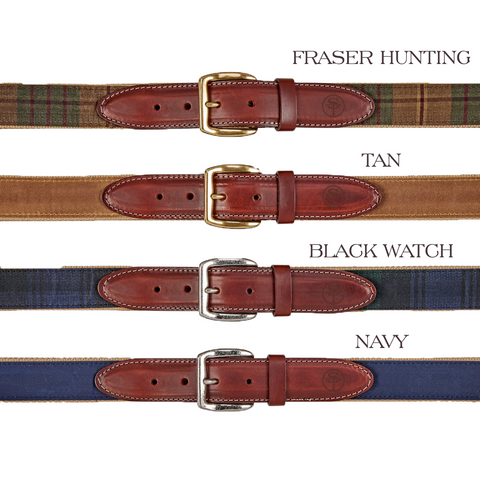 Beckwourth Waxed Canvas Belt