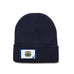 Navy Beanie with West Virginia Flag Patch by State Traditions