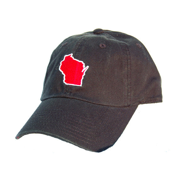 Wisconsin Madison Gameday Hat Black