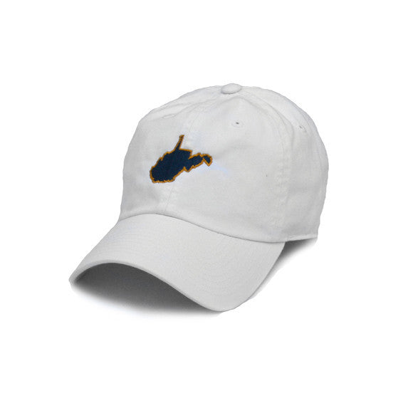 West Virginia Morgantown Gameday Hat White