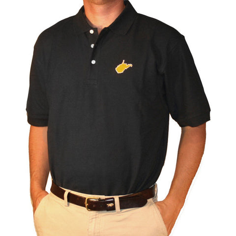 West Virginia Morgantown Gameday Polo Navy