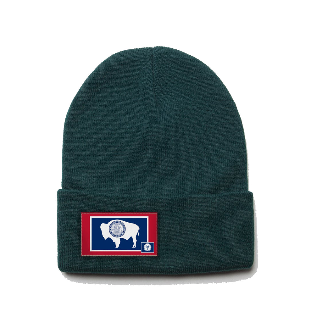 Wyoming State Flag Beanie
