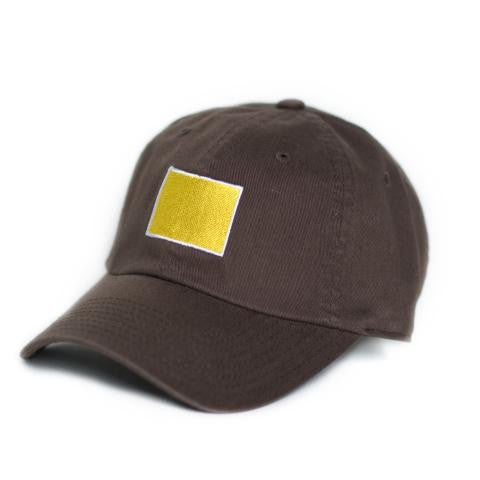 Wyoming Laramie Gameday Hat Brown - State Traditions