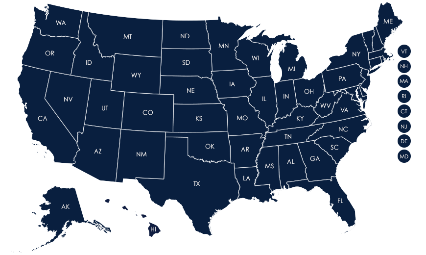 State Traditions Map