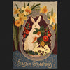 Easter Greetings Postcard Rug Kit or Pattern