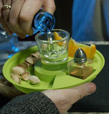 Watch the Lick. Drink. Suck.® Tequila Saucer Video