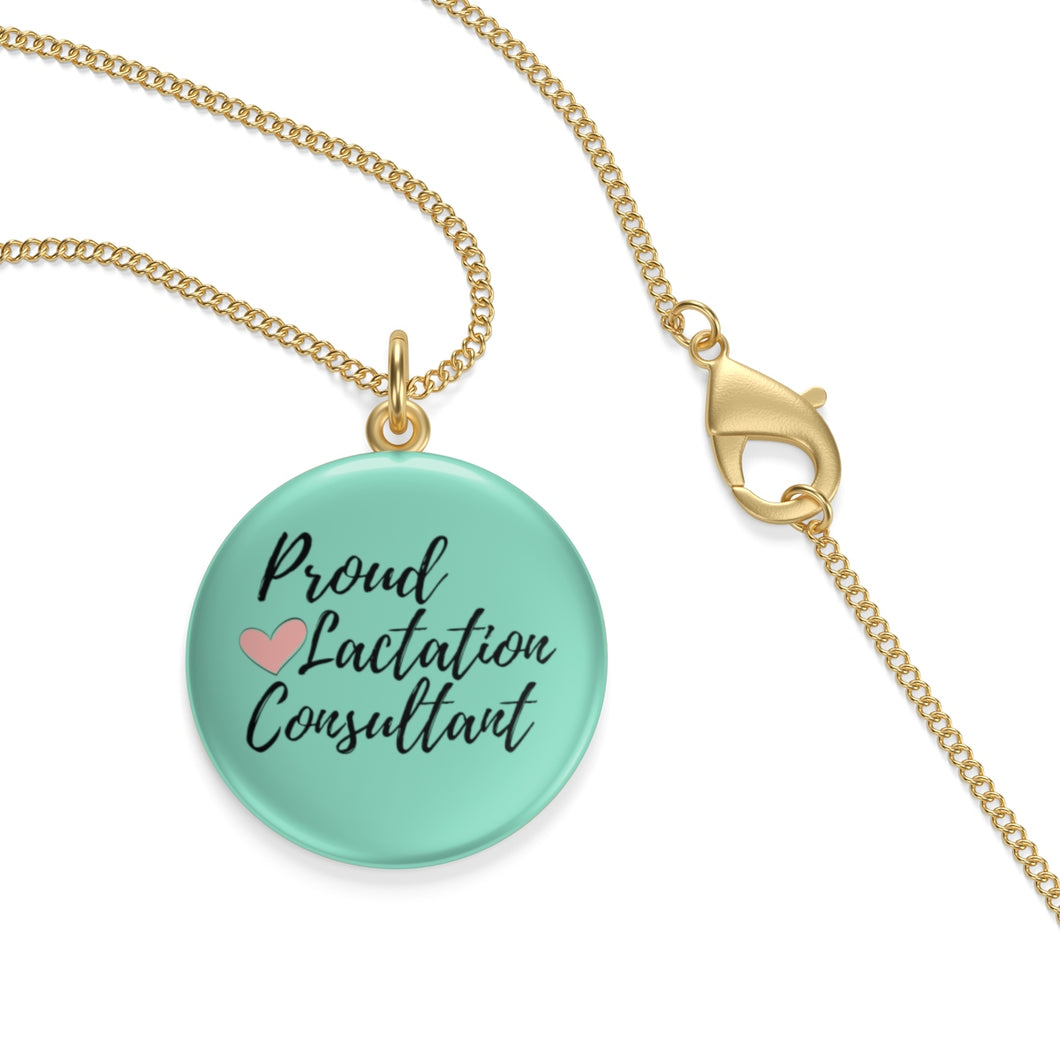 Proud Lactation Consultant Single Loop Necklace