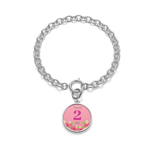 2 Years Badge Chain Bracelet