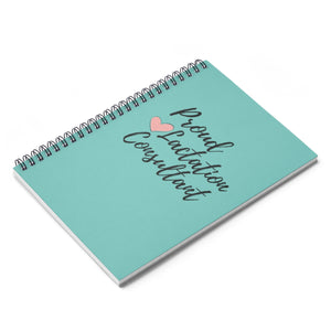 Proud Lactation Consultant Spiral Notebook